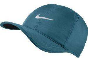 ΚΑΠΕΛΟ NIKE COURT AEROBILL FEATHERLIGHT TENNIS CAP ΠΕΤΡΟΛ