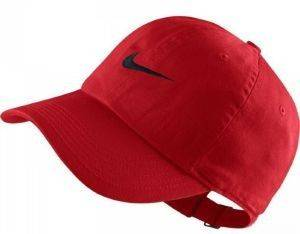 ΚΑΠΕΛΟ NIKE METAL SWOOSH HERITAGE ADJUSTABLE HAT  ΚΟΚΚΙΝΟ