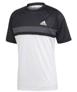ΜΠΛΟΥΖΑ ADIDAS PERFORMANCE COLORBLOCK CLUB TEE ΜΑΥΡΗ/ΛΕΥΚΗ