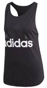 ΦΑΝΕΛΑΚΙ ADIDAS PERFORMANCE ESSENTIALS LINEAR LOOSE TANK TOP ΜΑΥΡΟ