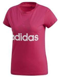 ΜΠΛΟΥΖΑ ADIDAS PERFORMANCE ESSENTIALS LINEAR TEE ΜΑΤΖΕΝΤΑ (XS)
