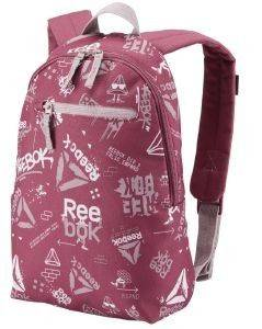 ΤΣΑΝΤΑ ΠΛΑΤΗΣ REEBOK KIDS SMALL GRAPHIC BACKPACK ΡΟΖ