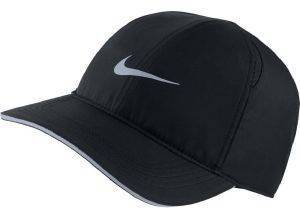 ΚΑΠΕΛΟ NIKE FEATHERLIGHT RUNNING CAP ΜΑΥΡΟ