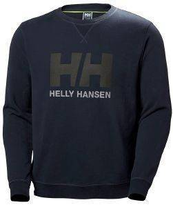 ΜΠΛΟΥΖΑ HELLY HANSEN HH LOGO CREW SWEAT ΑΝΘΡΑΚΙ