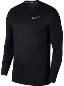 ΜΠΛΟΥΖΑ NIKE BREATHE RUN LONG SLEEVE TOP ΜΑΥΡΗ