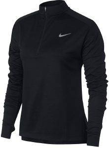 ΜΠΛΟΥΖΑ NIKE PACER HALF-ZIP LONG SLEEVE TOP ΜΑΥΡΗ