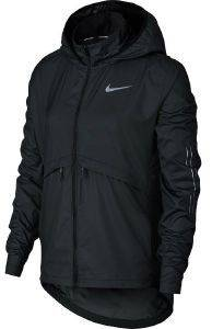 ΜΠΟΥΦΑΝ NIKE ESSENTIAL HOODED JACKET ΜΑΥΡΟ