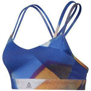 ΜΠΟΥΣΤΑΚΙ REEBOK SPORT YOGA HERO STRAPPY PADDED BRA ΜΠΛΕ
