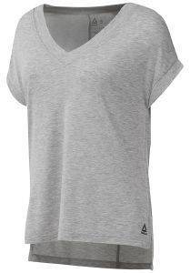 ΜΠΛΟΥΖΑ REEBOK SPORT WORKOUT READY SUPREMIUM DETAIL TEE  ΓΚΡΙ