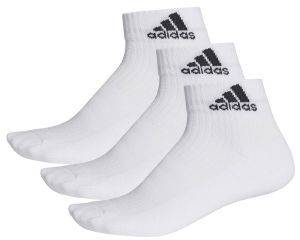 ΚΑΛΤΣΕΣ ADIDAS PERFORMANCE 3-STRIPES ANKLE SOCKS 3P ΛΕΥΚΕΣ