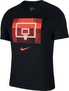 ΜΠΛΟΥΖΑ NIKE DRI-FIT BACKBOARD TEE ΜΑΥΡΗ (L)