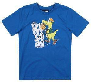 ΜΠΛΟΥΖΑ RUSSELL ATHLETIC S/S DINO BASKET TEE ΜΠΛΕ