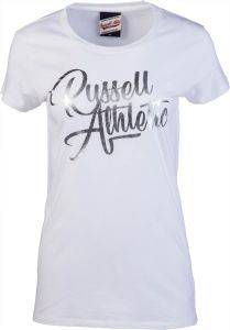 ΜΠΛΟΥΖΑ RUSSELL ATHLETIC S/S SCRIPT CREW NECK TEE ΛΕΥΚΗ (S)