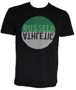 ΜΠΛΟΥΖΑ RUSSELL ATHLETIC CIRCLE S/S CREWNECK TEE ΜΑΥΡΗ