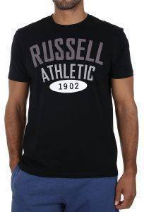 ΜΠΛΟΥΖΑ RUSSELL ATHLETIC 1902 S/S CREWNECK TEE ΜΑΥΡΗ