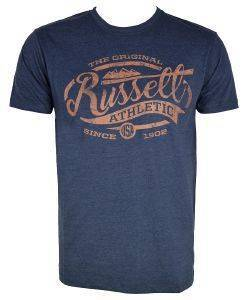 ΜΠΛΟΥΖΑ RUSSELL ATHLETIC ORIGINAL S/S CREWNECK TEE ΜΠΛΕ ΣΚΟΥΡΟ