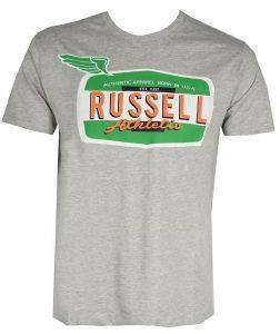 ΜΠΛΟΥΖΑ RUSSELL ATHLETIC WINGS S/S CREWNECK TEE ΓΚΡΙ