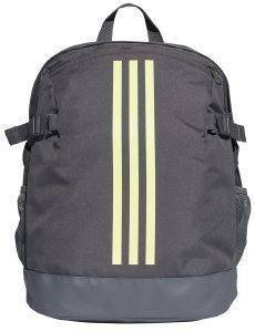 ΤΣΑΝΤΑ ADIDAS PERFORMANCE 3-STRIPES POWER BACKPACK MEDIUM ΓΚΡΙ