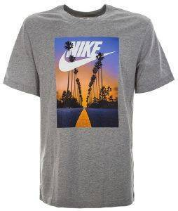 ΜΠΛΟΥΖΑ NIKE SPORTSWEAR SUNSET PALM TEE ΓΚΡΙ