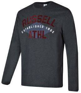 ΜΠΛΟΥΖΑ RUSSELL ATHLETIC L/S CREWNECK TEE ΑΝΘΡΑΚΙ (XXL)