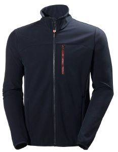 ΖΑΚΕΤΑ HELLY HANSEN CREW SOFTSHELL JACKET ΜΠΛΕ ΣΚΟΥΡΟ (M)