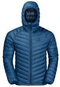 ΜΠΟΥΦΑΝ JACK WOLFSKIN ATMOSPHERE JACKET ΜΠΛΕ