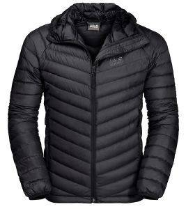 ΜΠΟΥΦΑΝ JACK WOLFSKIN ATMOSPHERE JACKET ΜΑΥΡΟ