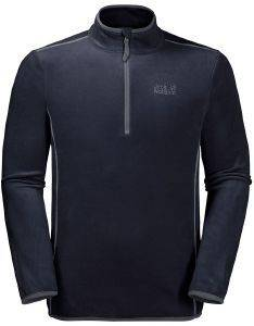 ΜΠΛΟΥΖΑ JACK WOLFSKIN ECHO MEN FLEECE JUMPER ΜΠΛΕ ΣΚΟΥΡΟ (M)