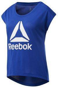 ΜΠΛΟΥΖΑ REEBOK SPORT WORKOUT READY SUPREMIUM 2.0 TEE ΜΠΛΕ