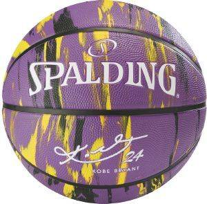 ΜΠΑΛΑ SPALDING NBA PLAYER KOBE BRYANT ΜΩΒ (7)