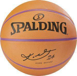 ΜΠΑΛΑ SPALDING NBA PLAYER KOBE BRYANT ΠΟΡΤΟΚΑΛΙ (7)