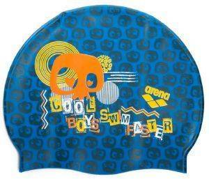 ΣΚΟΥΦΑΚΙ ARENA PRINT JR POOL CAP COOL BOYS ΜΠΛΕ