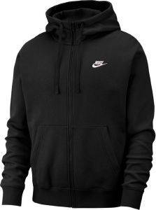 ΖΑΚΕΤΑ NIKE SPORTSWEAR CLUB FLEECE ΜΑΥΡΗ