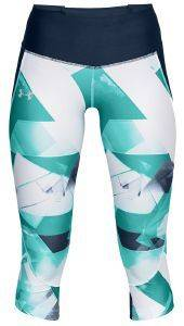 ΚΟΛΑΝ 3/4 UNDER ARMOUR UA ARMOUR FLY FAST PRINTED RUNNING CAPRIS ΜΠΛΕ ΣΚΟΥΡΟ/ΤΙΡΚΟΥΑΖ