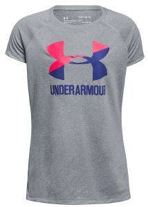 ΜΠΛΟΥΖΑ UNDER ARMOUR UA BIG LOGO GRAPHIC S/S T-SHIRT ΓΚΡΙ