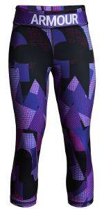 ΚΟΛΑΝ 3/4 UNDER ARMOUR HEATGEAR ARMOUR PRINTED CAPRIS ΜΩΒ