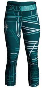 ΚΟΛΑΝ 3/4 UNDER ARMOUR HEATGEAR ARMOUR PRINTED CAPRIS ΠΡΑΣΙΝΟ