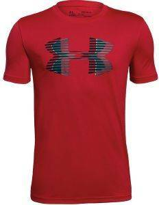 ΜΠΛΟΥΖΑ UNDER ARMOUR UA TECH BIG LOGO SOLID S/S SHIRT ΚΟΚΚΙΝΗ