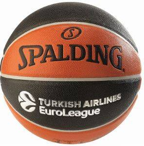 ΜΠΑΛΑ SPALDING TF-500 EUROLEAGUE OFFICIAL REPLICA INDOOR/OUTDOOR ΠΟΡΤΟΚΑΛΙ/ΜΑΥΡΗ (7)