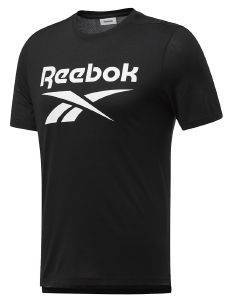 ΜΠΛΟΥΖΑ REEBOK SPORT WORKOUT READY SUPREMIUM GRAPHIC TEE ΜΑΥΡΗ
