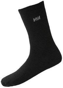 ΚΑΛΤΣΕΣ HELLY HANSEN EVERYDAY WOOL SOCK 2PK ΜΑΥΡΕΣ
