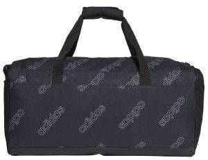 ΣΑΚΟΣ ADIDAS PERFORMANCE LINEAR CF DUFFEL BAG MEDIUM ΜΑΥΡΟΣ