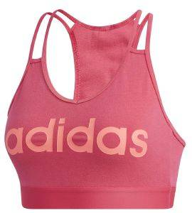 ΜΠΟΥΣΤΑΚΙ ADIDAS PERFORMANCE TOP DEPORTIVO ESSENTIALS ΡΟΖ (S)