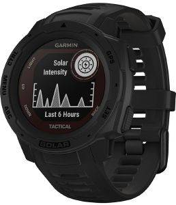 ΡΟΛΟΪ GPS GARMIN INSTINCT SOLAR TACTICAL BLACK