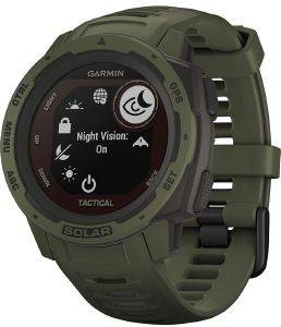 ΡΟΛΟΪ GPS GARMIN INSTINCT SOLAR TACTICAL MOSS
