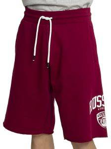 ΒΕΡΜΟΥΔΑ RUSSELL ATHLETIC COLLEGIATE RAW EDGE SHORTS ΒΥΣΣΙΝΙ