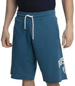 ΒΕΡΜΟΥΔΑ RUSSELL ATHLETIC COLLEGIATE RAW EDGE SHORTS ΜΠΛΕ