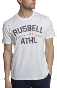 ΜΠΛΟΥΖΑ RUSSELL ATHLETIC S/S CREWNECK TEE ΛΕΥΚΗ