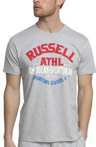 ΜΠΛΟΥΖΑ RUSSELL ATHLETIC SPORTING GOODS S/S CREWNECK TEE ΓΚΡΙ