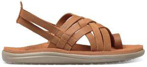 ΣΑΝΔΑΛΙ TEVA VOYA STRAPPY LEATHER ΚΑΦΕ